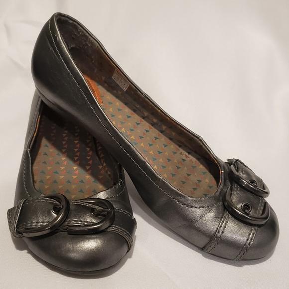 Womens Ladies Rocket Dog Faux Leather Black Ballet Flat Shoes Size 3 4 5 6 7 8